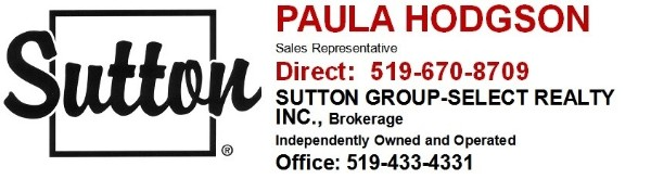Paula Hodgson - Sutton Group