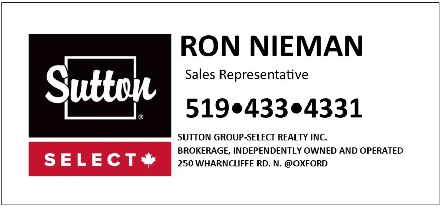 Sutton Select- Ron Nieman